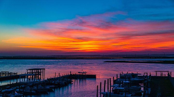 Chincoteague Island Sunset - Doug Wielfaert Photography