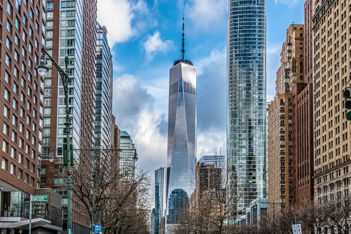 Freedom Tower from Battery Park - Doug Wielfaert Photography