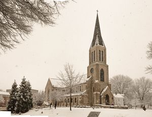 Lee University Chapel in Winter