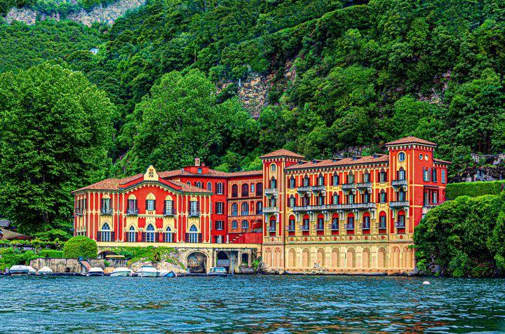 Queen's Pavilion Hotel Villa d'Este - Doug Wielfaert Photography
