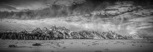 Teton Panorama - Doug Wielfaert Photography