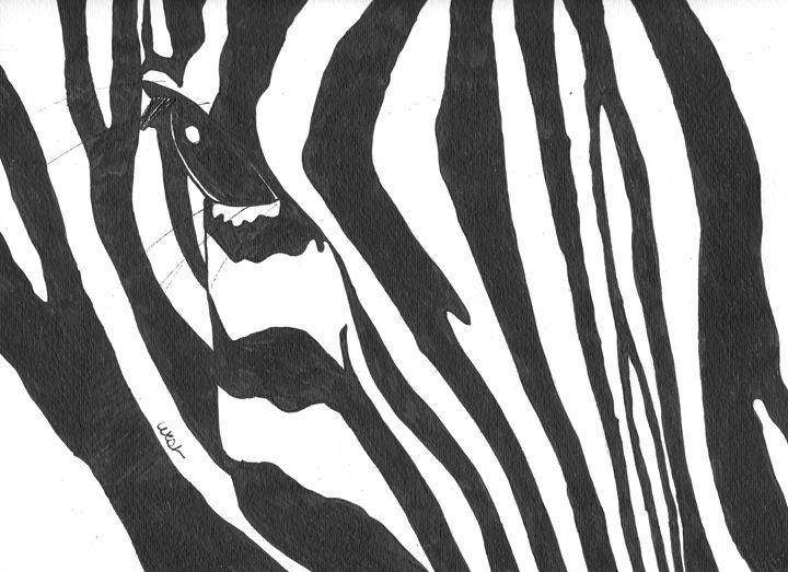 Zebra 1 - West Gallery