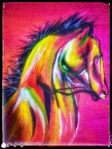 Artistic Horse