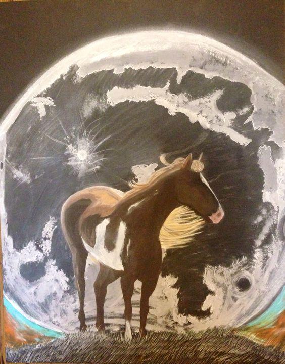 Paint the Moonlight - Fond Memories Art