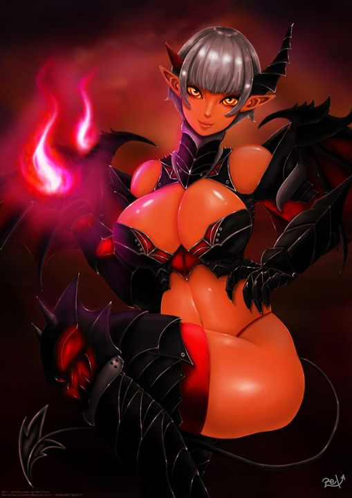 Devil Girl - Zel's Gallery