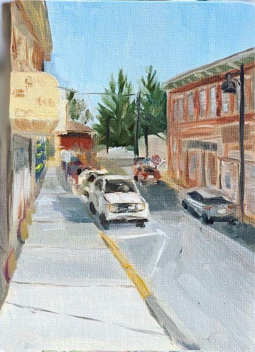 Carlson Ave - Hannah Bladh Fine Art