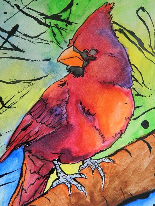 Cardinal in Contrast - The Art of Willemsen