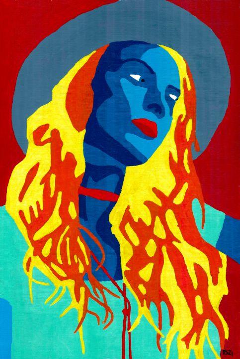 Blue Hat - Randall Steinke
