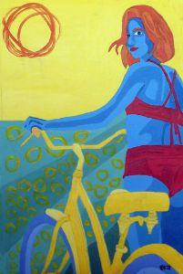 Yellow Bike - Randall Steinke