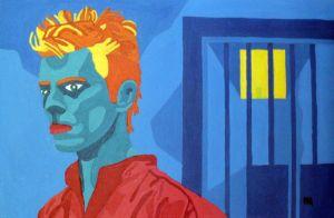 Man in Red Shirt - Randall Steinke