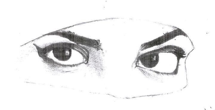 beauty of an eye - faizer pencil arts