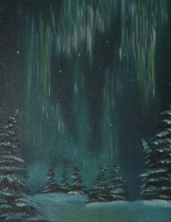 Winter Nights - Bianca's Original Art