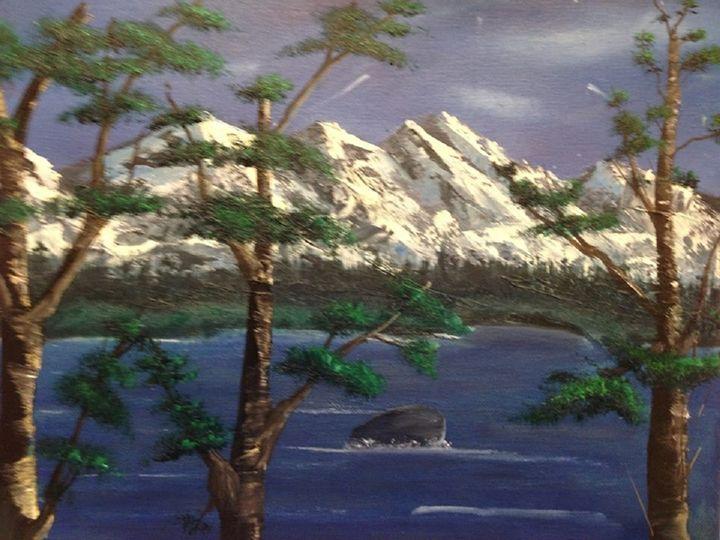 Thru the Trees - Bianca's Original Art