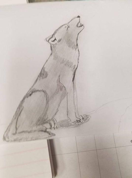 Howling Wolf - KC Art