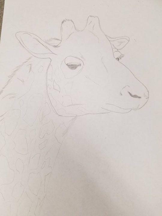 Giraffe - KC Art