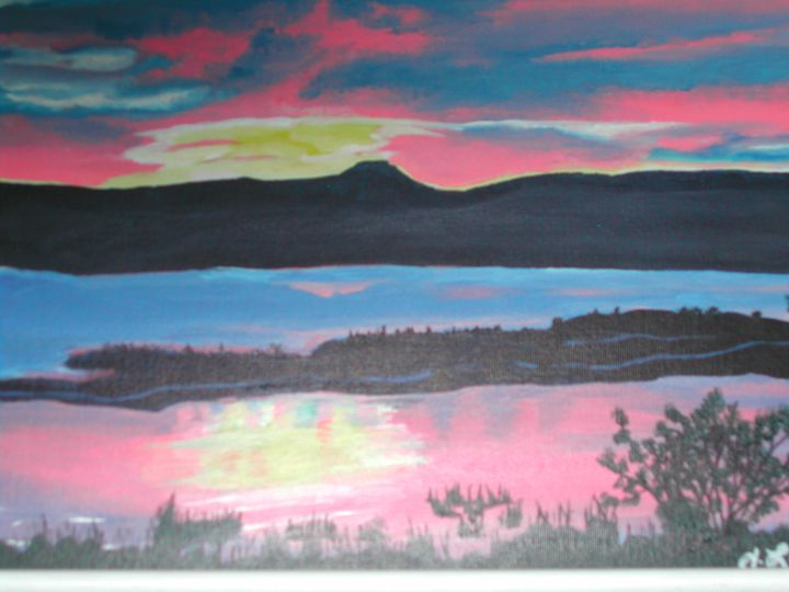 Sunset's Calm - Joanne Lindhe