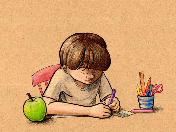Drawing - grafithjarta