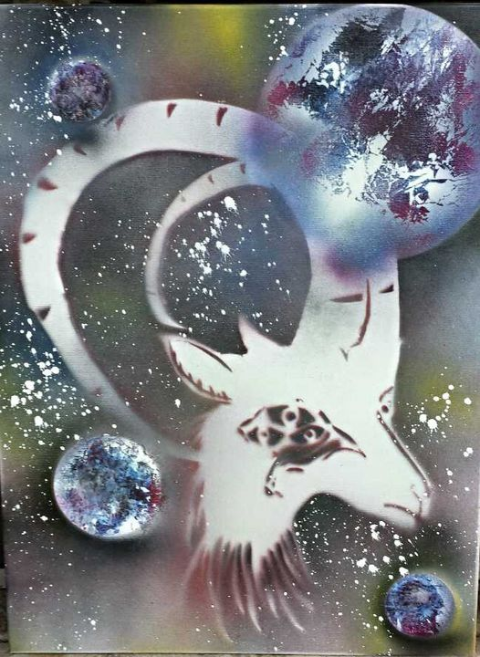 4-Eyed Goat lost in space - Syd Stalls