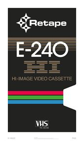 HI image – VHS poster