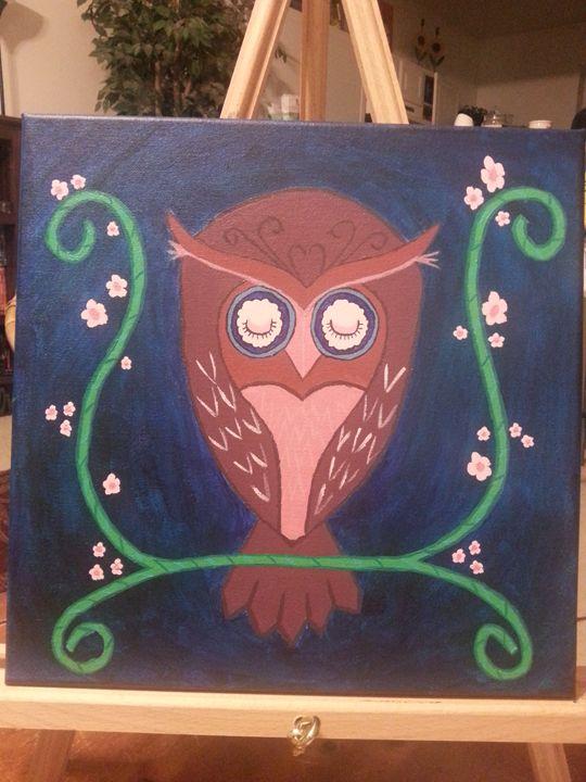 Dreaming Owl - Cherise Haddix