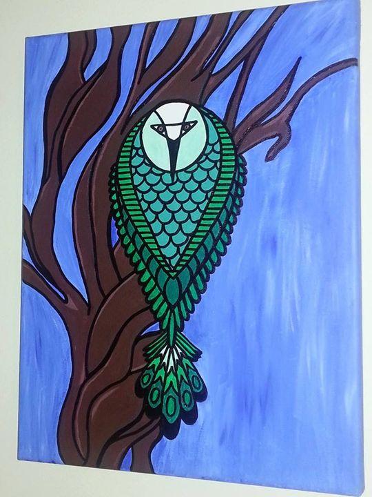 Serious Owl - Cherise Haddix