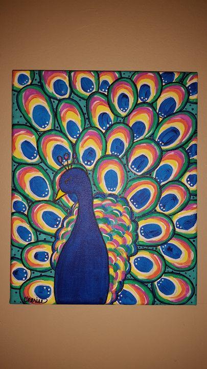 Pretty Peacock - Cherise Haddix