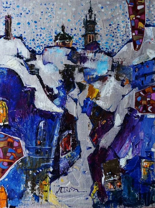 WINTER'S TALE - Dariya Tumanova Art