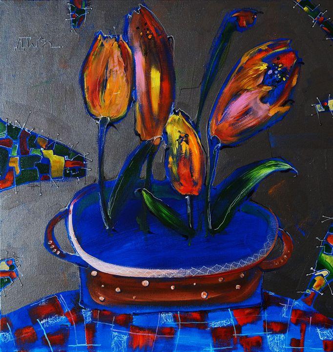 Tulips - Dariya Tumanova Art