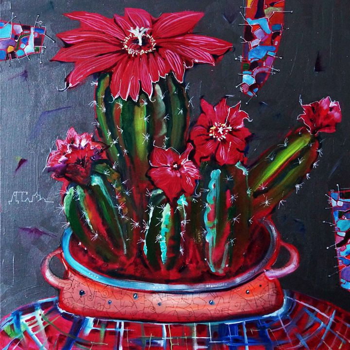 Cactus! - Dariya Tumanova Art