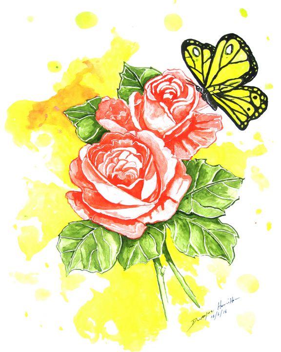 Rose in Spring - Dwayne Hamilton Artist