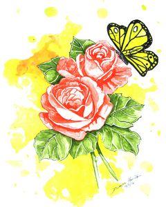 Rose in Spring