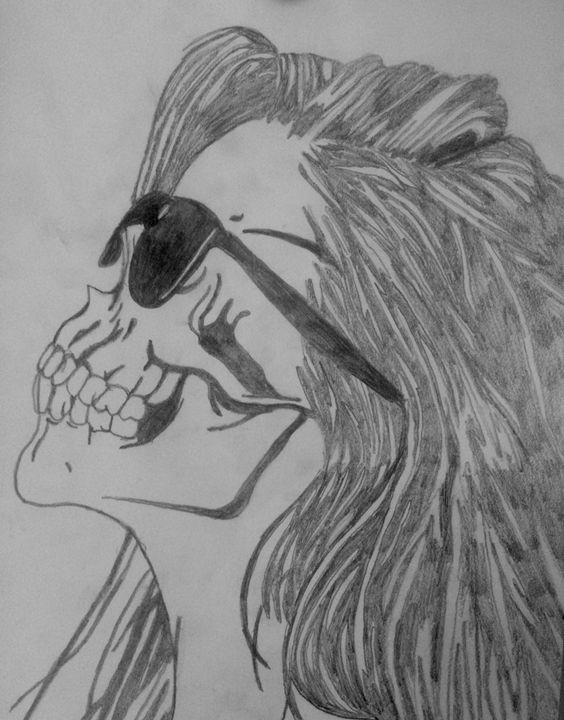 skull - celeste's art