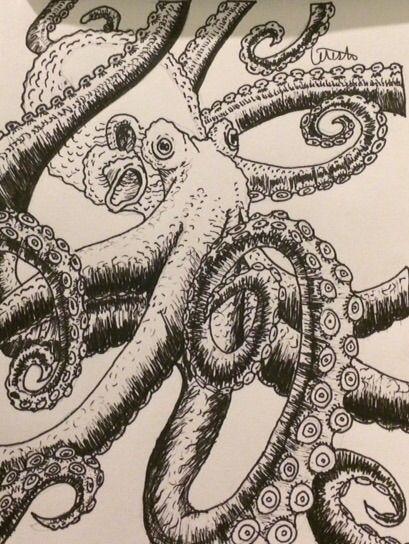 octopus - celeste's art