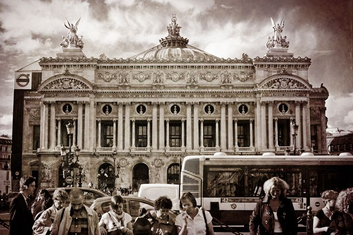 Paris Opera House #1 - Josh Milne Photography