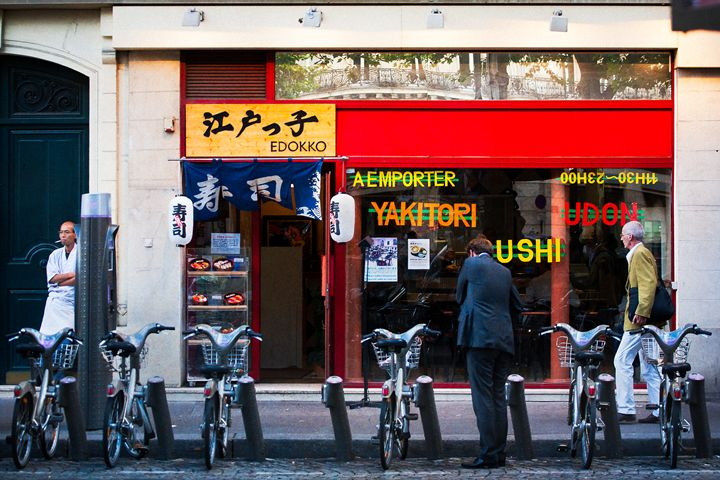 Bicycles and Sushi - Josh Milne Photography