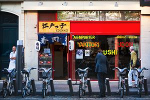 Bicycles and Sushi