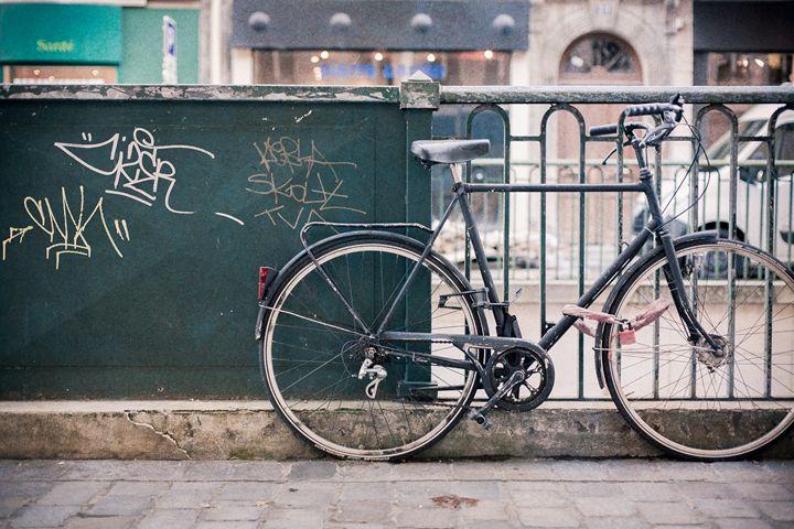 Paris Bicycle #1 - Josh Milne Photography