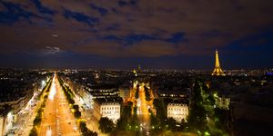 Paris from the Landscape  Canvas  Ph