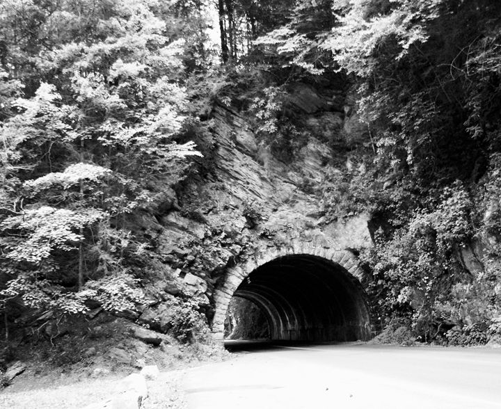 Tunnel through the Mountain - Shelley Photography