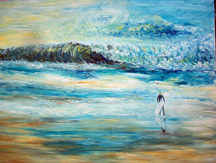 The Surfer - Michael Crohn Gallery