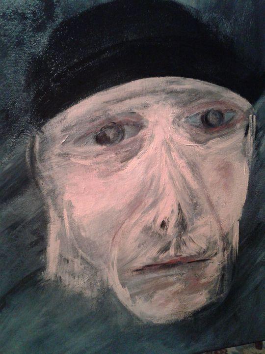 Self portrait during confinement - JUGANLLOOKS