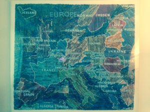 Europe by Paula Scher