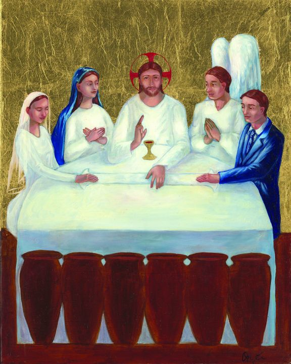 Wedding Feast at Cana - Working with Jesus
