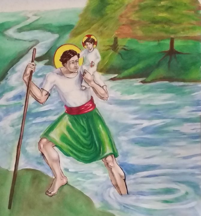 St. Christopher - Working with Jesus