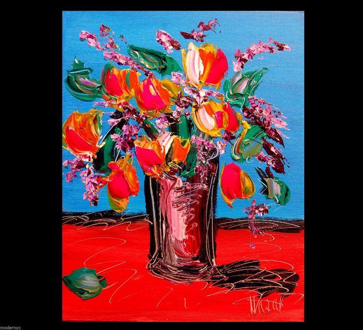 Red Tulips - www.pincelarte.tk