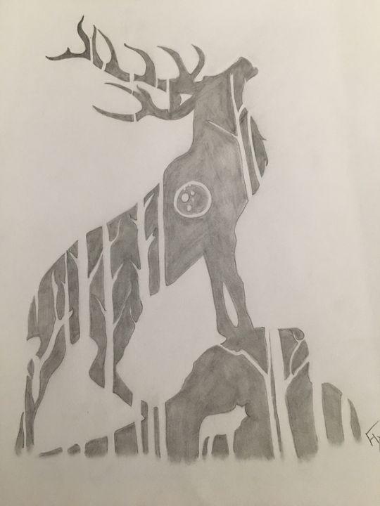 Shadow Elk - Flxmingo