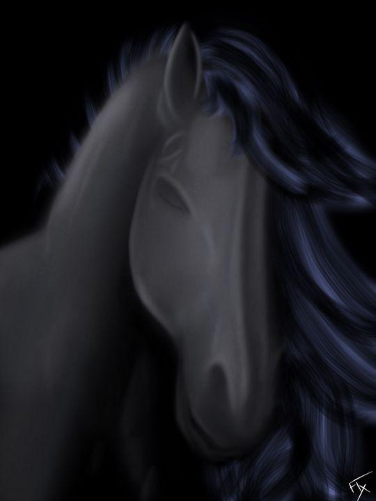 Shadow Horse - Flxmingo