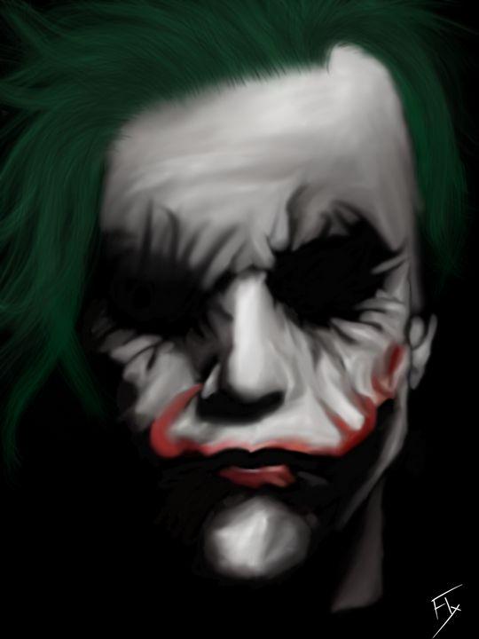 The Joker - Flxmingo