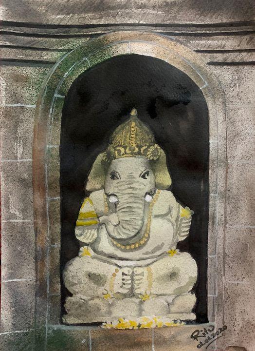 Sri Ganesh - Sai's Art