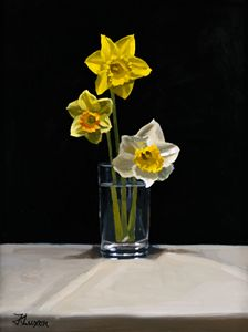 daffodils - luxonart